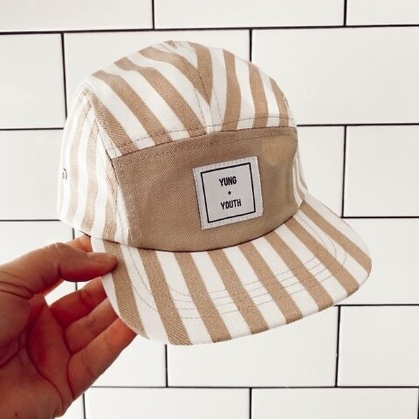 Yung & Youth striped kids hat