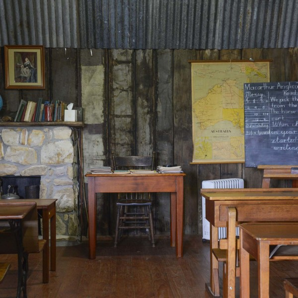 Classroom at Wollondilly Heritage Centre & Museum