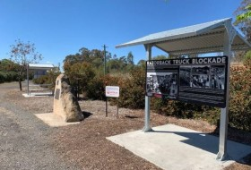 Razorback Blockade Memorial